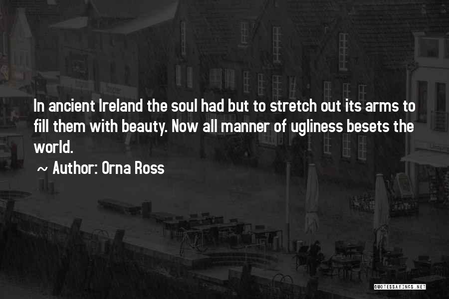 Ireland's Beauty Quotes By Orna Ross