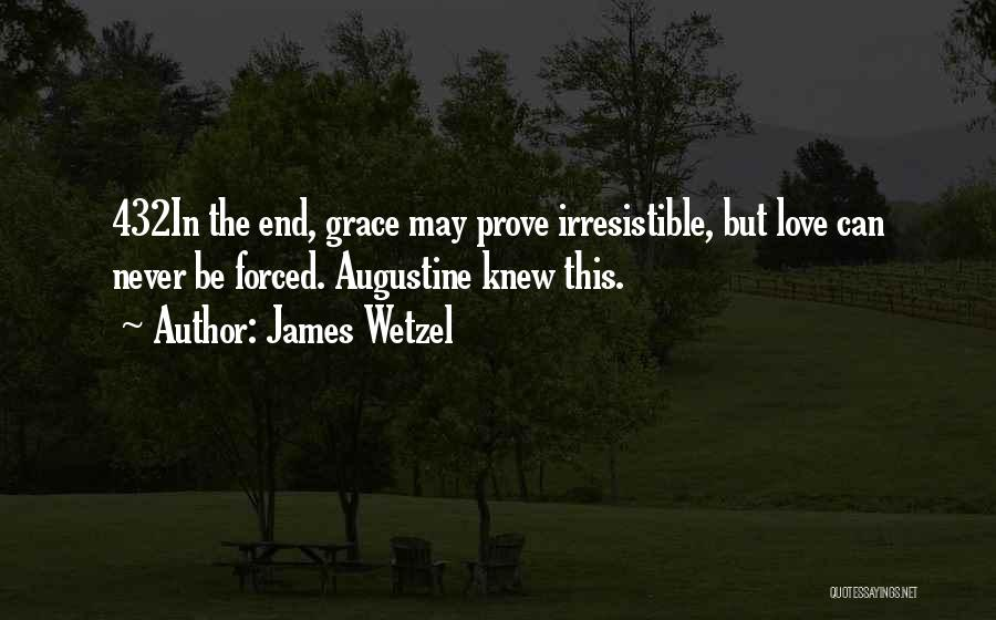 Irresistible Grace Quotes By James Wetzel