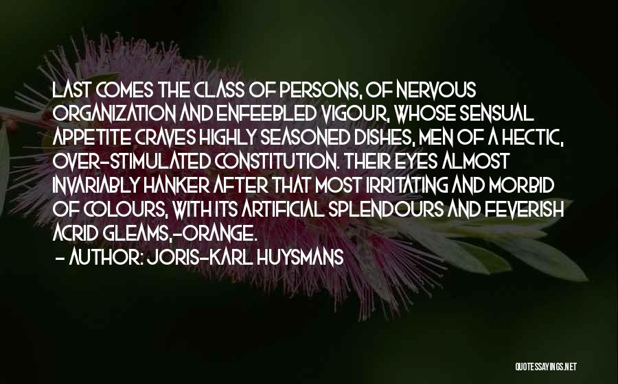 Irritating Others Quotes By Joris-Karl Huysmans
