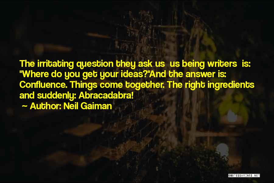 Irritating Others Quotes By Neil Gaiman