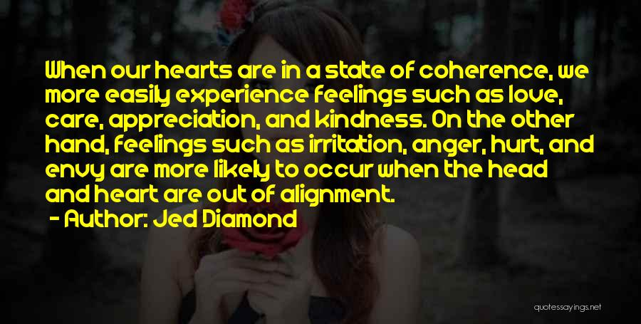 Irritation To Love Quotes By Jed Diamond