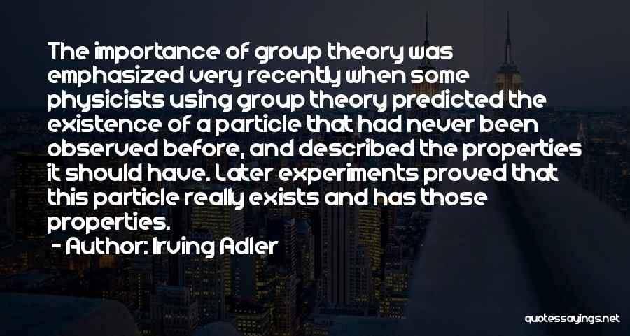 Irving Adler Quotes 369306
