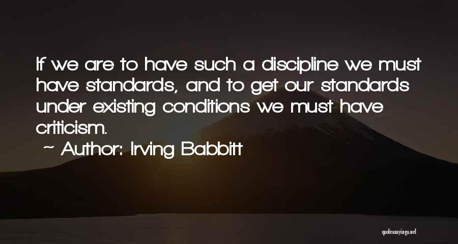 Irving Babbitt Quotes 1165402