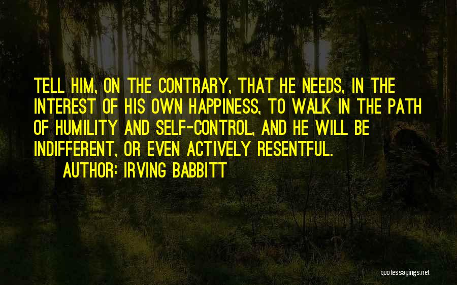 Irving Babbitt Quotes 1623783
