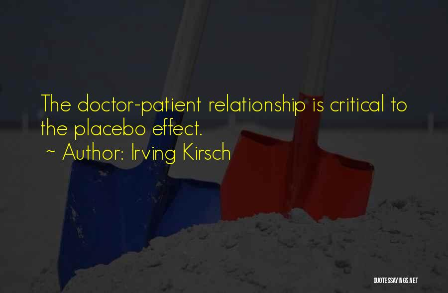 Irving Kirsch Quotes 1560240