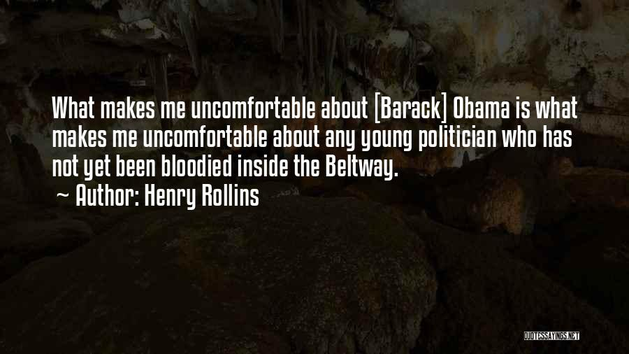 Is About Me Quotes By Henry Rollins