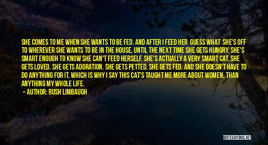 Is About Me Quotes By Rush Limbaugh