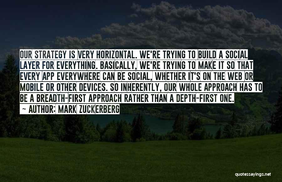 Is There An App To Make Your Own Quotes By Mark Zuckerberg