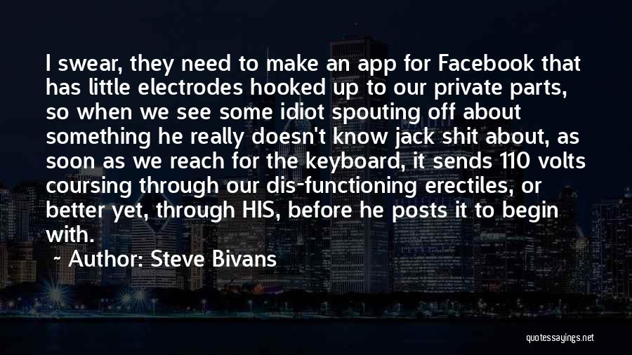 Is There An App To Make Your Own Quotes By Steve Bivans