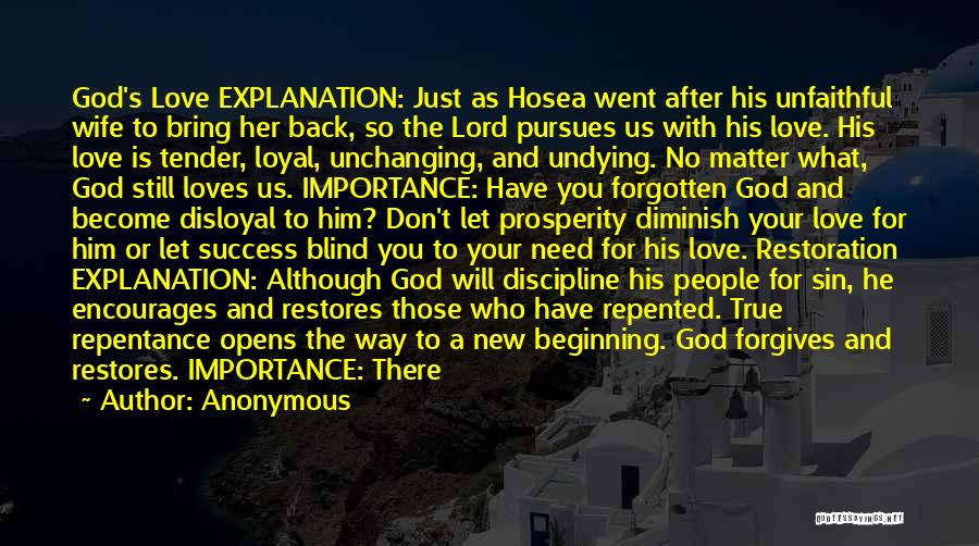 Is There Hope Quotes By Anonymous