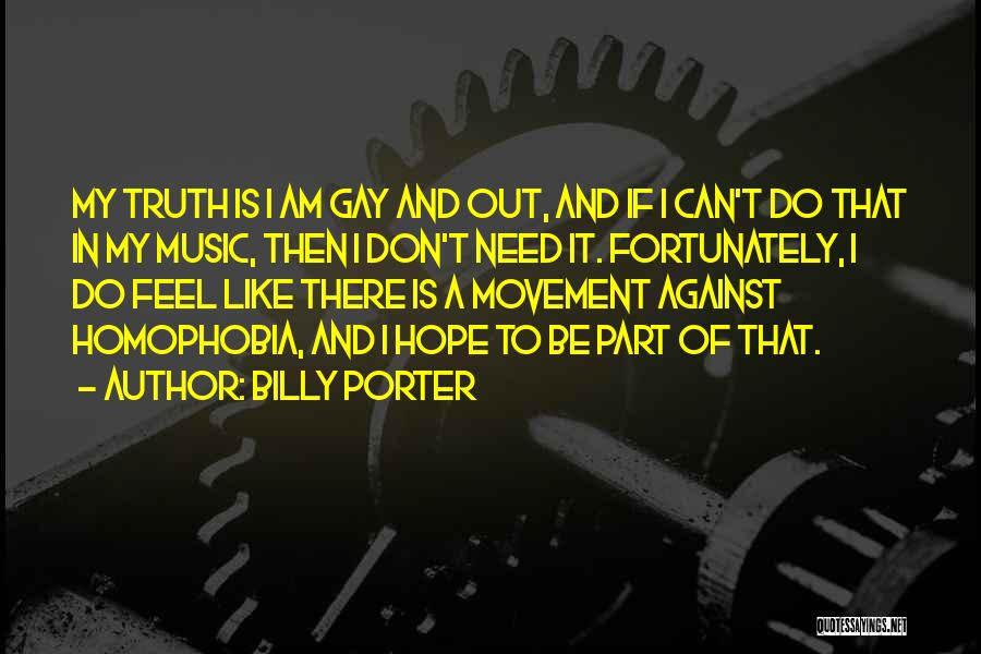 Is There Hope Quotes By Billy Porter