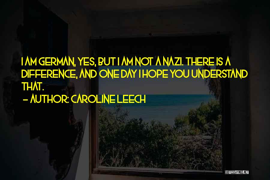 Is There Hope Quotes By Caroline Leech