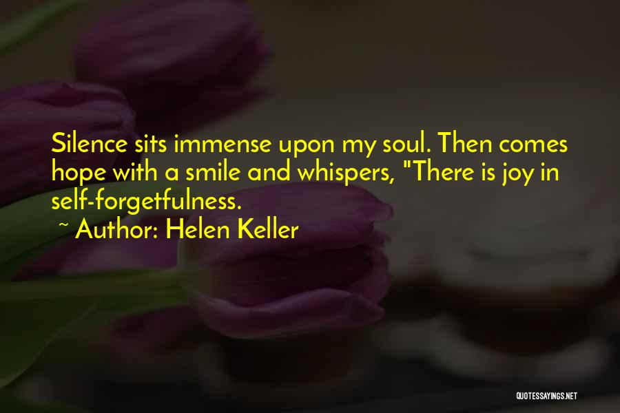 Is There Hope Quotes By Helen Keller