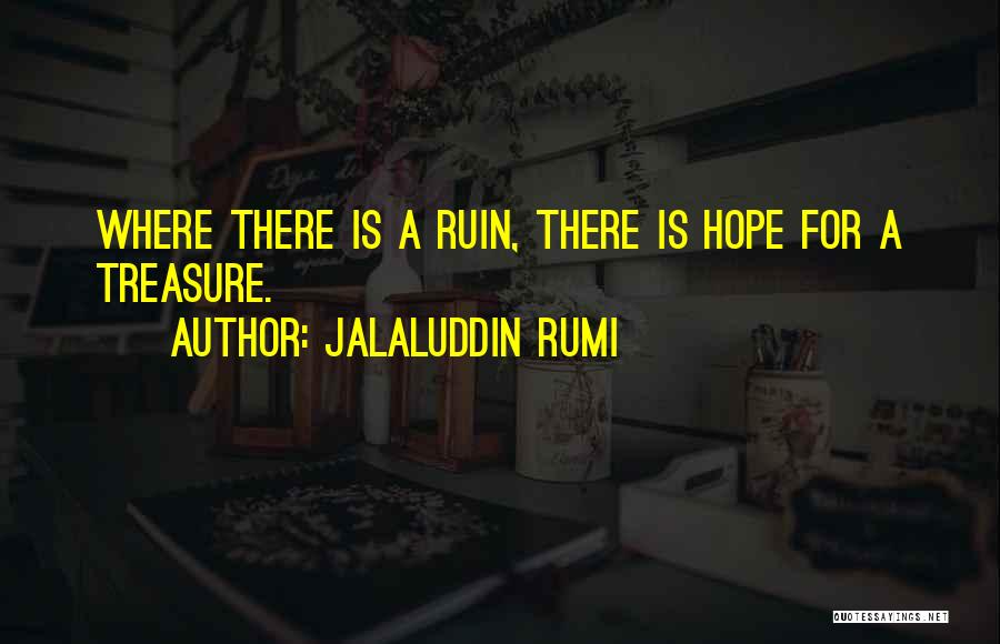 Is There Hope Quotes By Jalaluddin Rumi