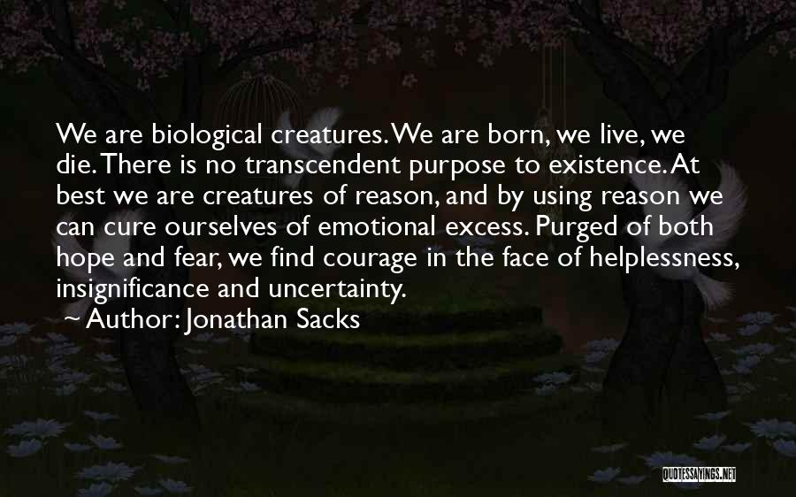 Is There Hope Quotes By Jonathan Sacks