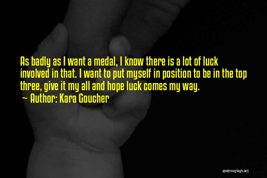 Is There Hope Quotes By Kara Goucher