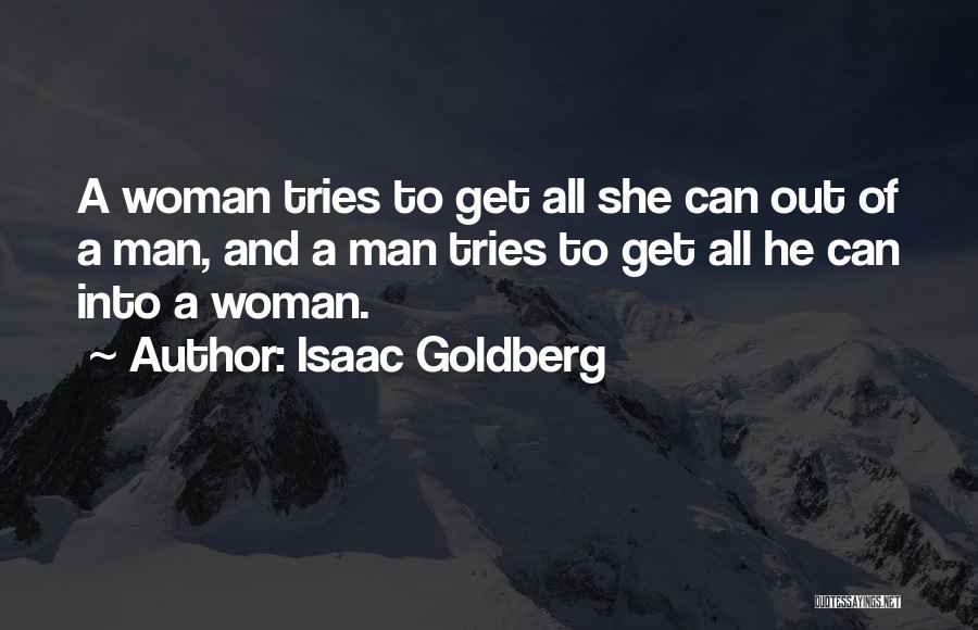 Isaac Goldberg Quotes 226534