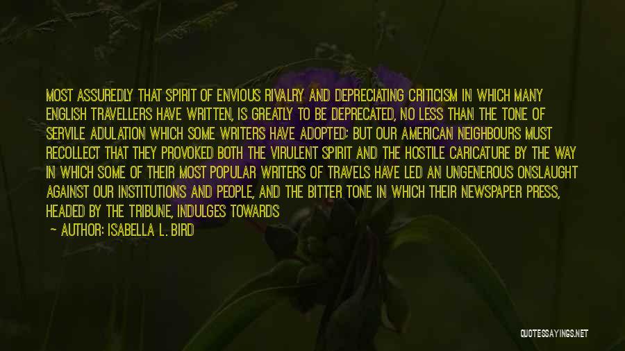Isabella L. Bird Quotes 1734342