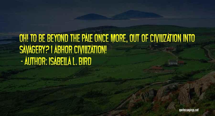 Isabella L. Bird Quotes 1899540