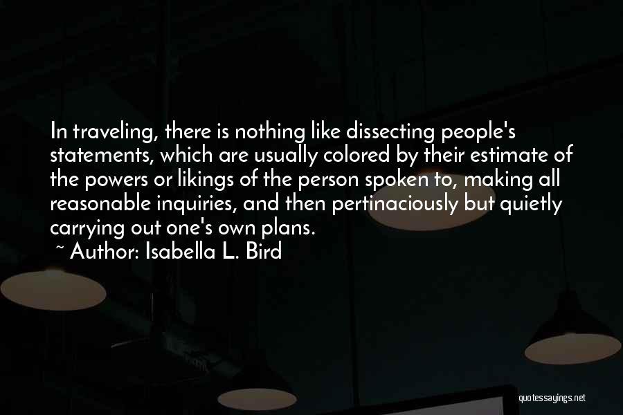 Isabella L. Bird Quotes 898751
