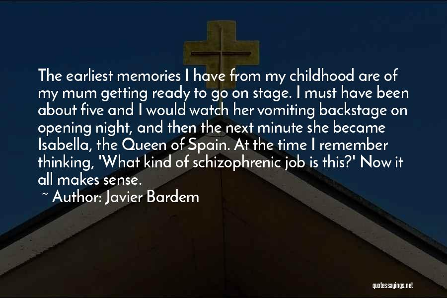 Isabella Of Spain Quotes By Javier Bardem
