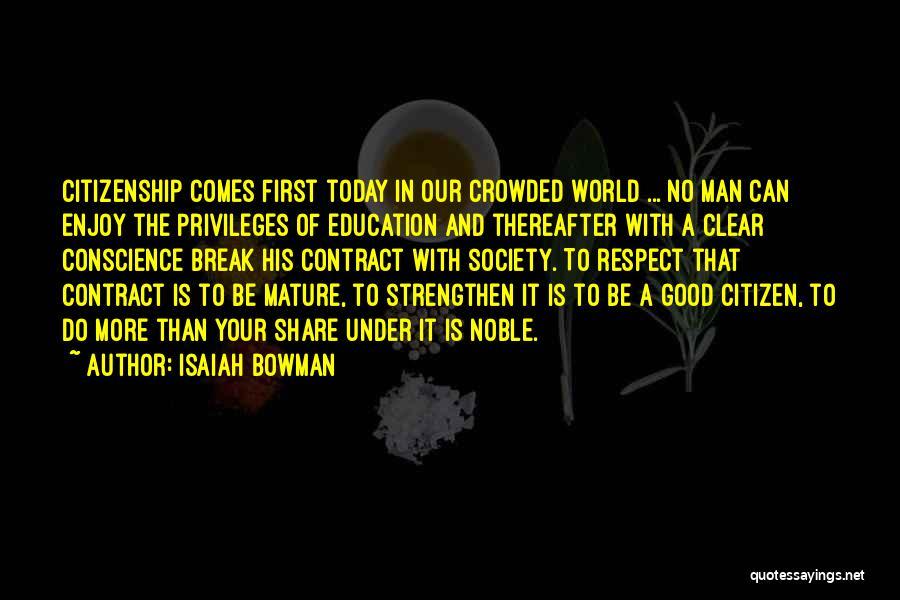 Isaiah Bowman Quotes 2023110