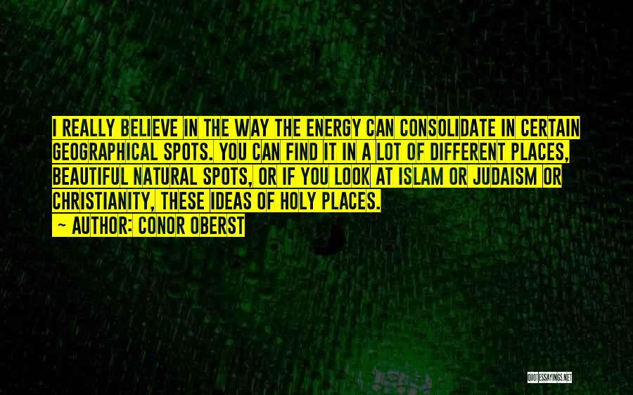 Islam Beautiful Quotes By Conor Oberst