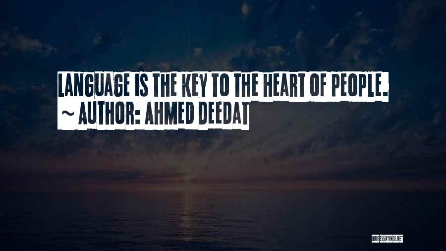 Islam Is A Religion Of Peace Quotes By Ahmed Deedat