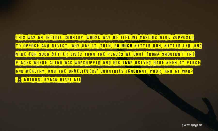 Islam Is A Religion Of Peace Quotes By Ayaan Hirsi Ali