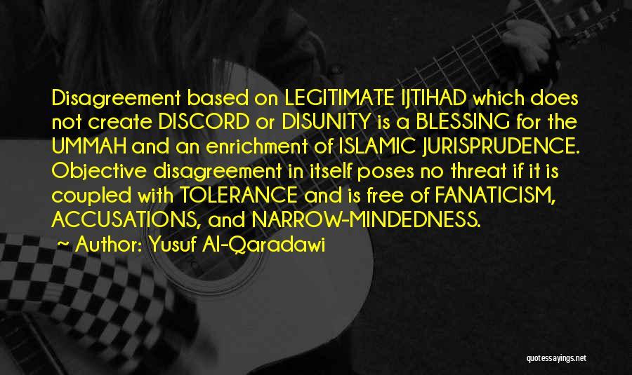 Islamic Tolerance Quotes By Yusuf Al-Qaradawi