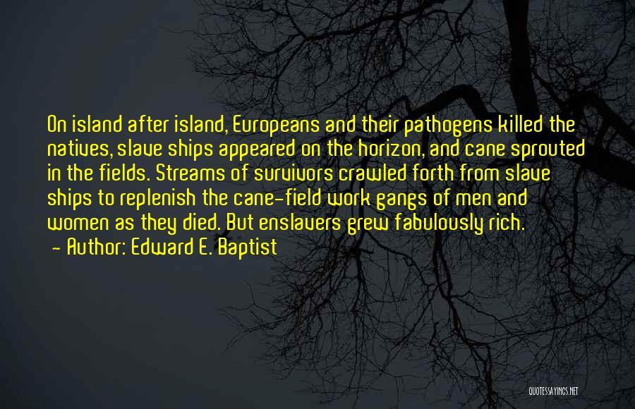Island Quotes By Edward E. Baptist
