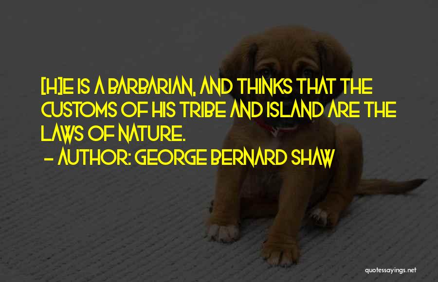 Island Quotes By George Bernard Shaw