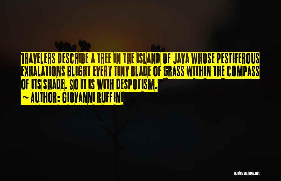 Island Quotes By Giovanni Ruffini