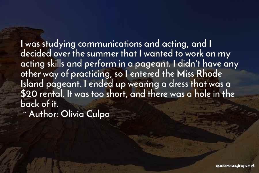 Island Quotes By Olivia Culpo