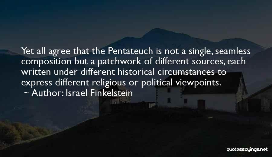 Israel Finkelstein Quotes 279453