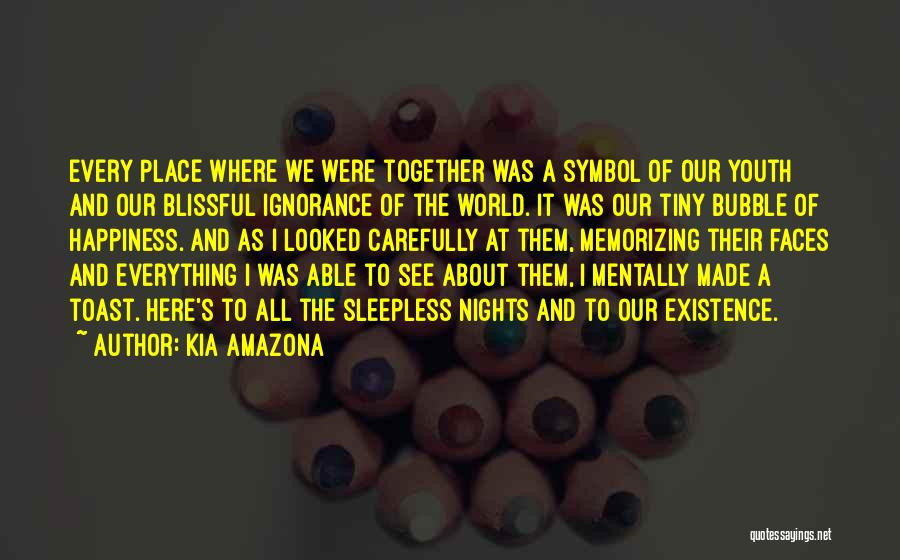 It All About Friendship Quotes By Kia Amazona