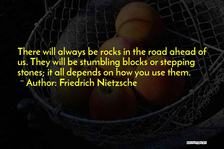 It All Depends Quotes By Friedrich Nietzsche