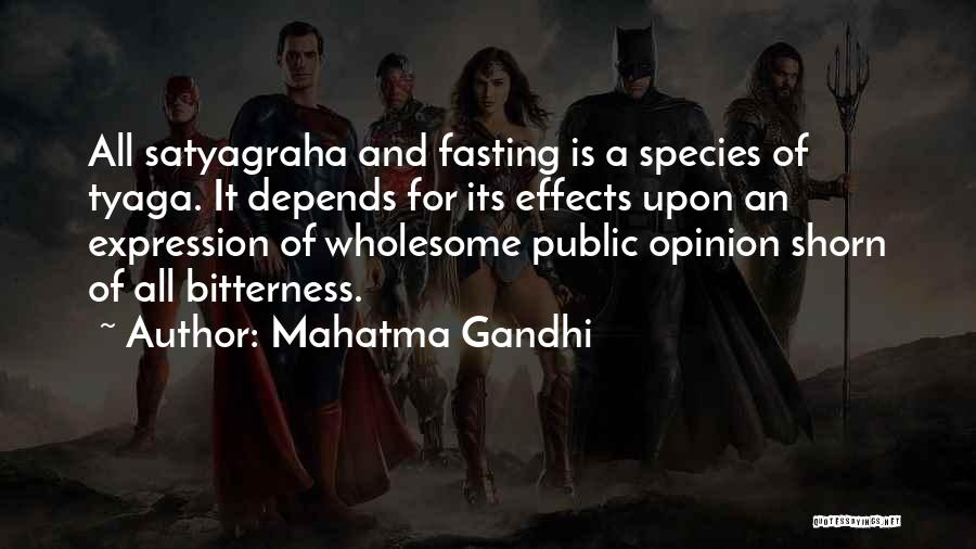 It All Depends Quotes By Mahatma Gandhi