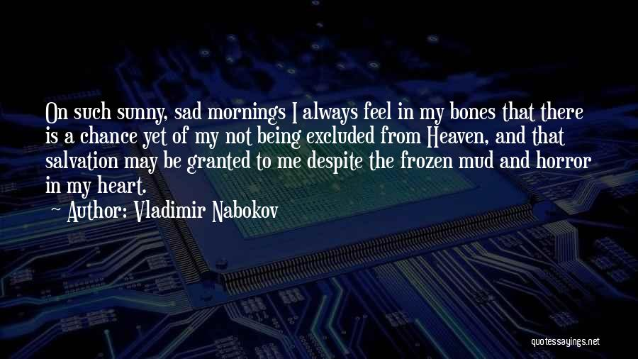 It Being Okay To Be Sad Quotes By Vladimir Nabokov