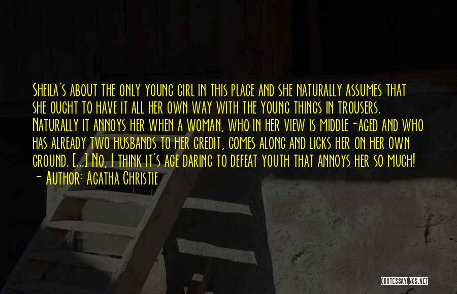 It Comes Naturally Quotes By Agatha Christie