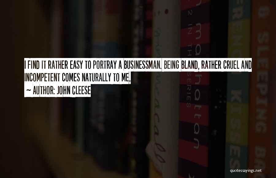 It Comes Naturally Quotes By John Cleese