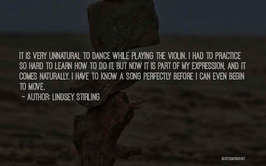 It Comes Naturally Quotes By Lindsey Stirling