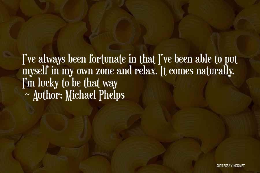It Comes Naturally Quotes By Michael Phelps