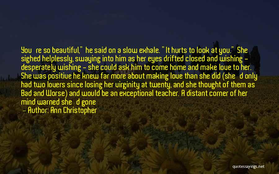 It Could Be Worse Quotes By Ann Christopher