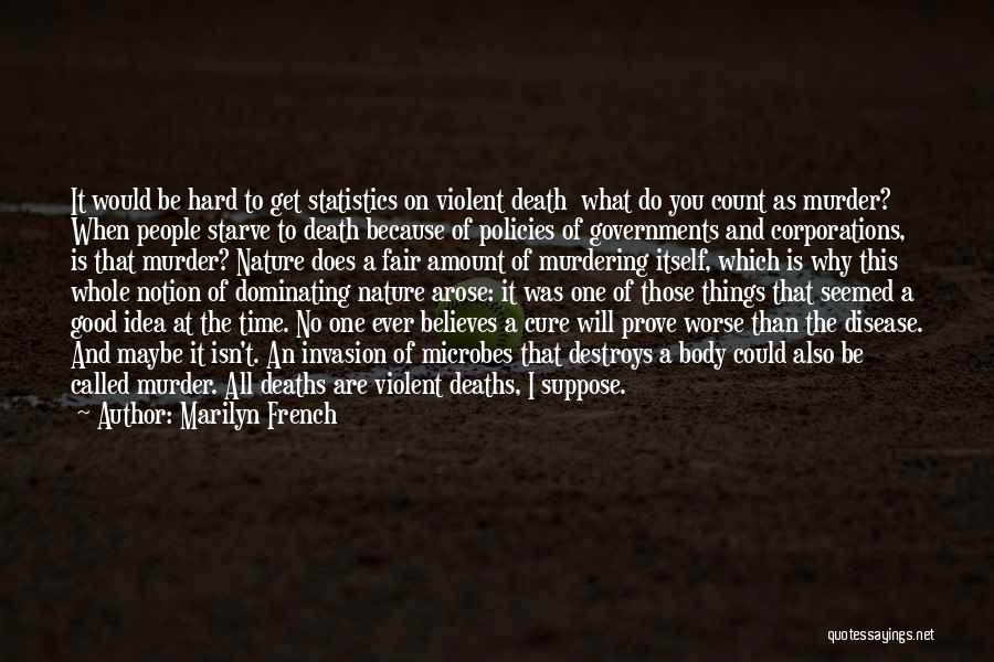 It Could Be Worse Quotes By Marilyn French