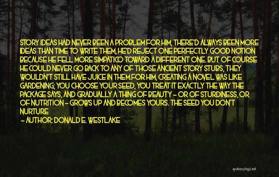 It Could Have Been Different Quotes By Donald E. Westlake