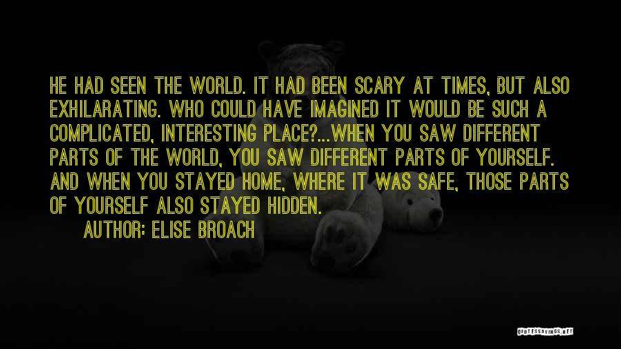 It Could Have Been Different Quotes By Elise Broach