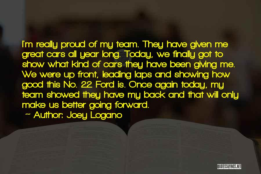 It Has Been A Great Year Quotes By Joey Logano