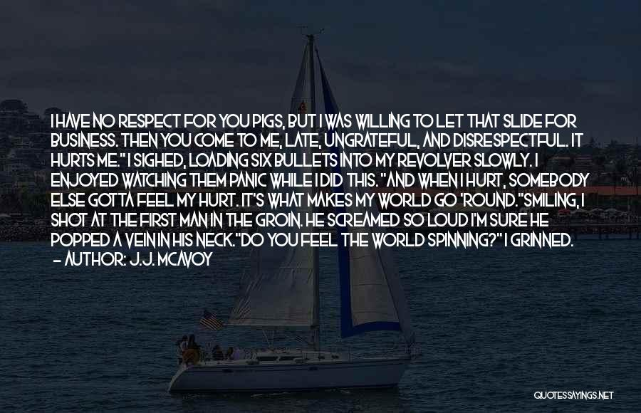 It Hurts But I Have To Let Go Quotes By J.J. McAvoy