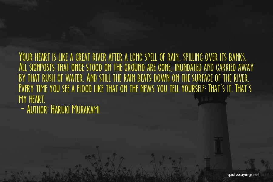 It Is All Over Quotes By Haruki Murakami